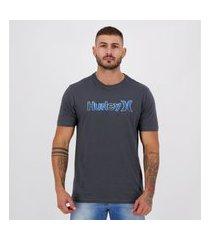 camiseta hurley silk television cinza