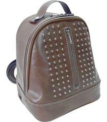 mochila marrón longtemps