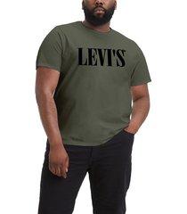 mens b & t big graphic t-shirt