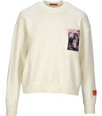 heron preston heron preston heron patch sweatshirt