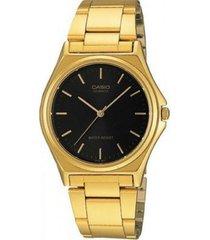reloj casio ltp_1130n_1ar dorado acero inoxidable