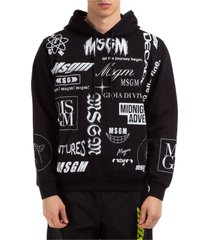 msgm lunar hoodie