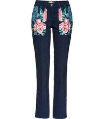 pantaloni in twill (blu) - bpc selection