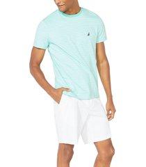 nautica men's stripe t-shirt
