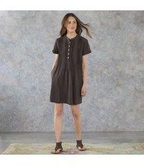 sundance catalog women's charley dress in carbon xs