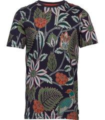 arcade t-shirts short-sleeved multi/mönstrad ted baker