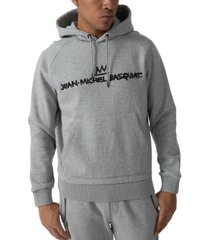 sean john men's jean michael basquiat fleece hoodie