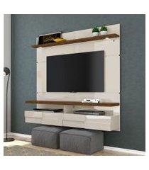 painel para tv 50 polegadas lana off white savana 160 cm