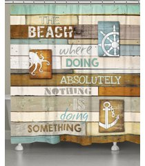 laural home beach mantra shower curtain bedding
