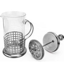 cafeteira thata esportes francesa 350 ml - prata - dafiti