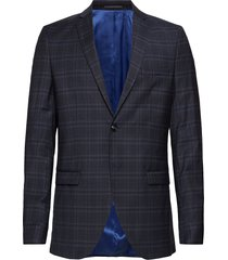 slhslim-mylocreed navy check blz b noos blazer colbert blauw selected homme