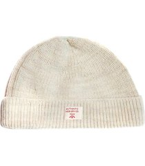nigel cabourn solid beanie   natural   ncacc7-nat