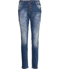retro classic denim skinny jeans blå please jeans