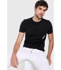 camiseta azul-rojo-blanco tommy hilfiger