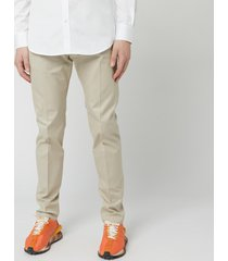 dsquared2 men's chino admiral fit - stone - it 48/w32