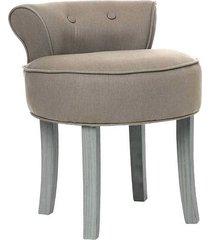 stołek fotel taboret sinaloa ciemnobrązowy