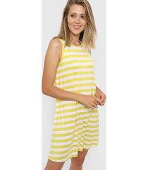 vestido amarillo gap