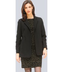 blazer alba moda zwart
