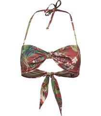 capri bandeau bikinitop multi/mönstrad twist & tango