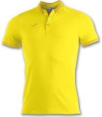 polo shirt korte mouw joma bali ii geel m/c poloshirt (100748-900)