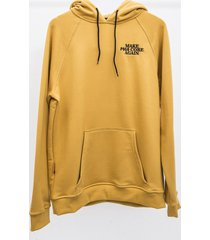 bluza hoodie make pogo core again yellow
