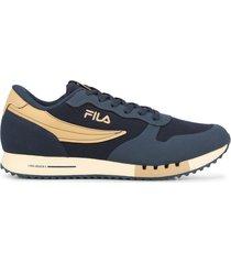 zapatilla azul fila euro jogger