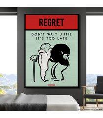 cuadro lienzo tayrona store monopoly - regret
