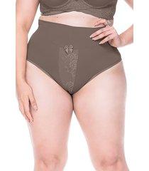 calcinha sempre sensual lingerie cora marrom - marrom - feminino - poliamida - dafiti