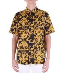 overhemd korte mouw versace b1gwa6b4-s0152