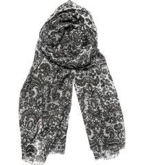 pañuelo brocato negro humana