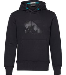 club nomade sweat hoody with kangaroo pockets hoodie trui blauw scotch & soda