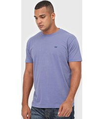 camiseta osklen vintage coroa azul
