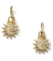 mens gold star earrings*
