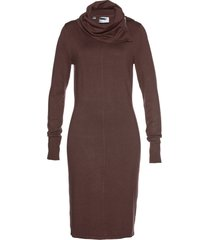 abito in maglia a collo alto (marrone) - bpc selection