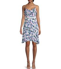 bcbgmaxazria women's floral dress - floral multi - size 6