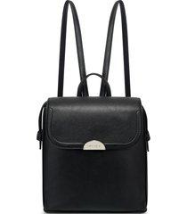 cartera nine west enchantra backpack - negro