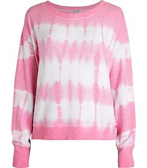 heather tie-dye sweater