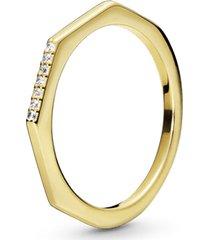 anel pandora shine™ multifacetado