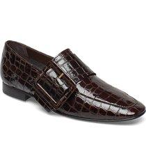 valery nappa loafer loafers låga skor brun flattered
