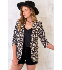 limited blazer bloemenprint