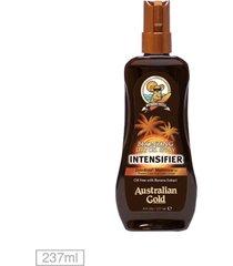 bronzeador australian gold intensifier dry oil - 237ml
