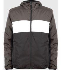 chaqueta brave soul multicolor - calce regular