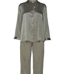 pure silk - basic pyjamas pyjama groen lady avenue