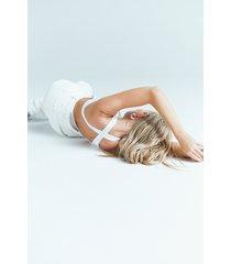 josefine hj x na-kd body med korsad rygg - white