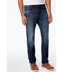 william rast men's straight-fit hixon stretch jeans