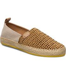 raffiaville espadrille sandaletter expadrilles låga guld gant