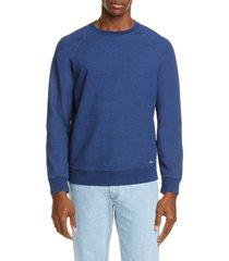 men's a.p.c. robert crewneck sweatshirt