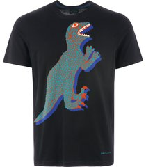ps by paul smith dino print t-shirt - black m2r-011r-ap0925