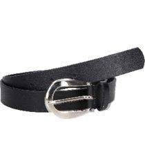cinturón cuero colores y texturas negro