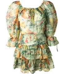 alice mccall strange dreams playsuit - multicolour